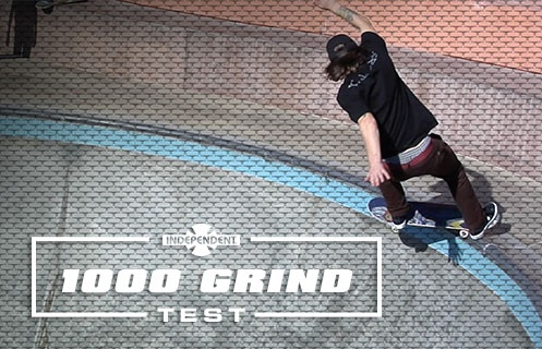 1000 Grind Wear Test: Indy Stage 11 Trucks