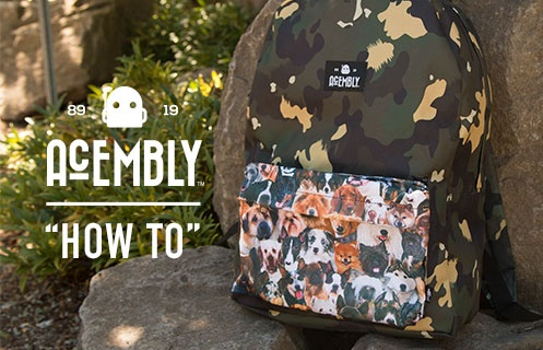 Acembly Backpacks How To