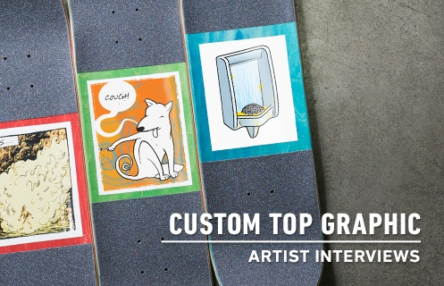 Custom Top Graphic Artist Interviews