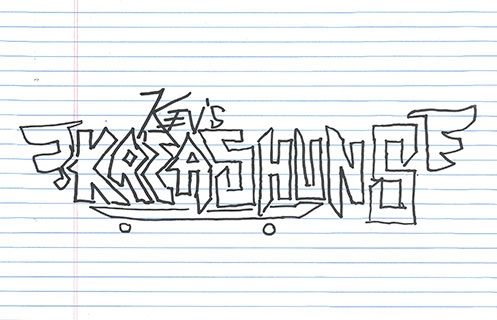 Kev's Kreations: Mark Gonzales