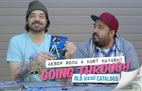 Aesop Rock And Kurt Going Through Old Catalogs