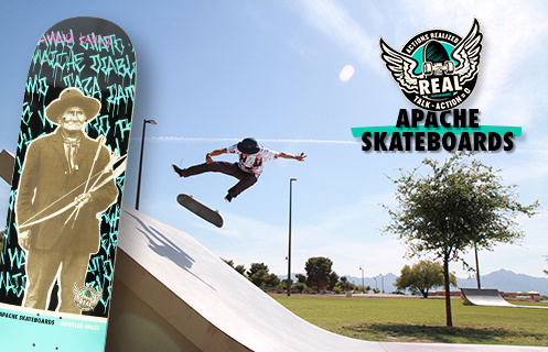 Actions REALized: Apache Skateboards