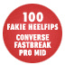 100 Kickflips In The CONS Fastbreak (Fakie Heelflip Edition)