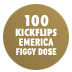 100 Kickflips In The Emerica Figgy Dose Shoe
