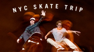 Mango and Friends Skate NYC