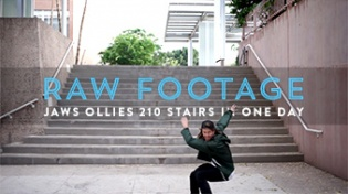 Raw Footage: Jaws, 210 Stairs, One Day