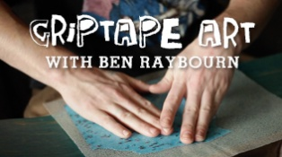 How To Make Griptape Art With Ben Raybourn