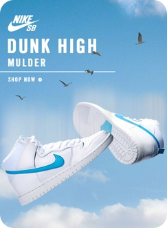Limited Release Nike SB Dunk High Mulder QS Shoes