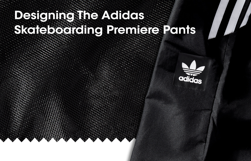 Adidas Skateboarding Premiere Pants Sneak Peek