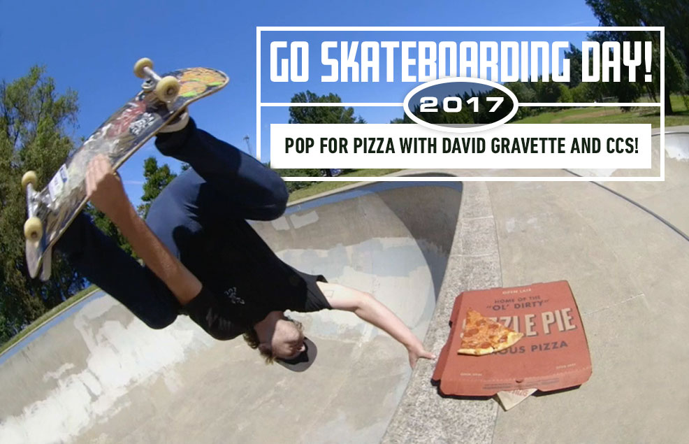 Go Skateboarding Day 2017: Pop For Pizza