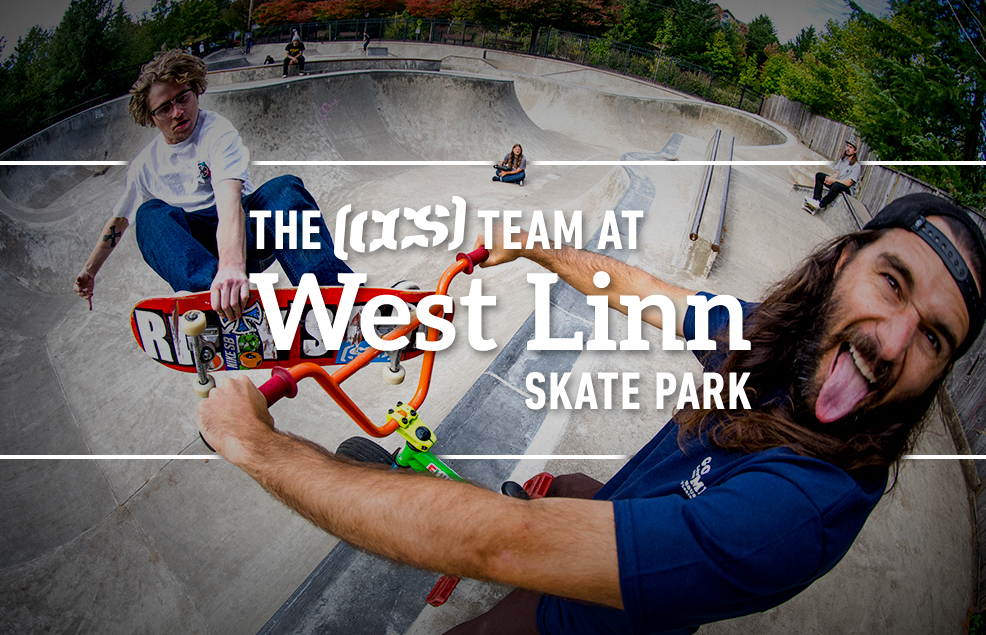 The CCS Team At West Linn Skate Park