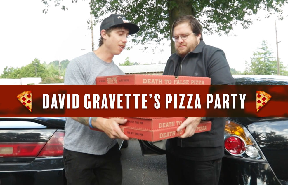 David Gravette's Pizza Party