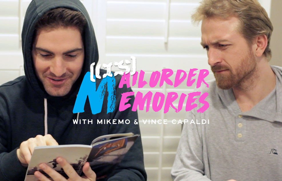 Mailorder Memories: Mikemo And Vince Capaldi