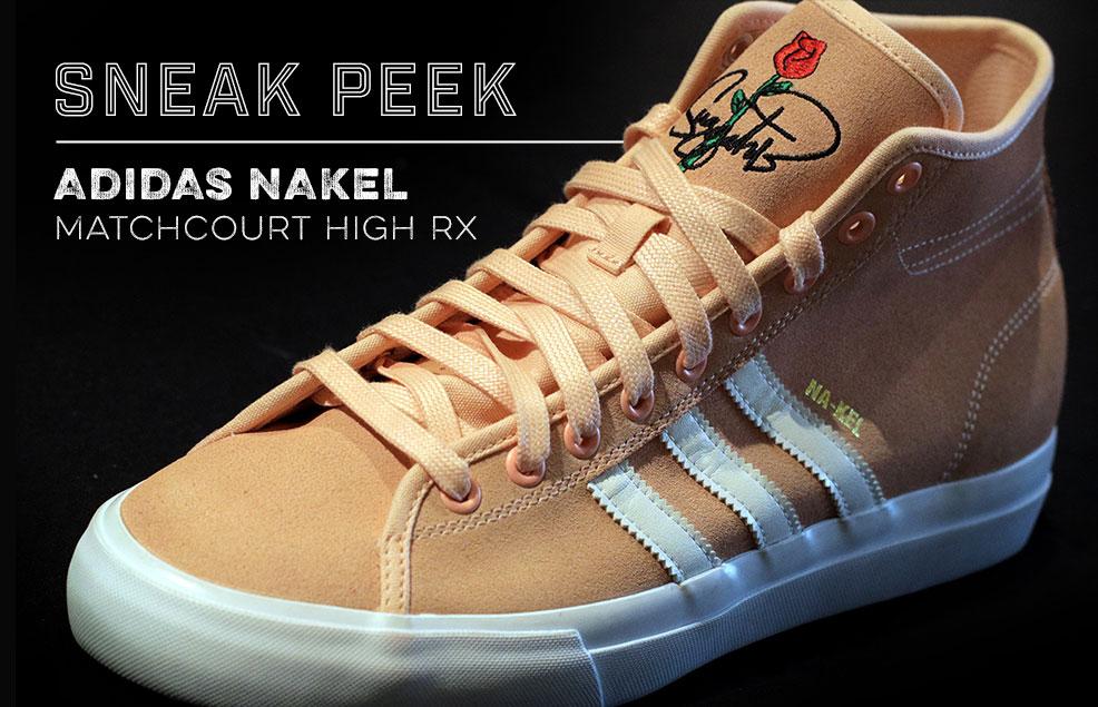Sneak Peak At The Adidas Na-Kel Matchcourt High RX