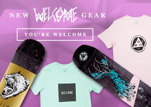 Welcome Skateboard Decks