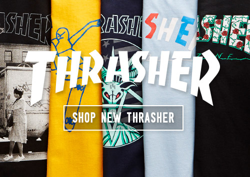 Thrasher Skateboard Mag Apparel