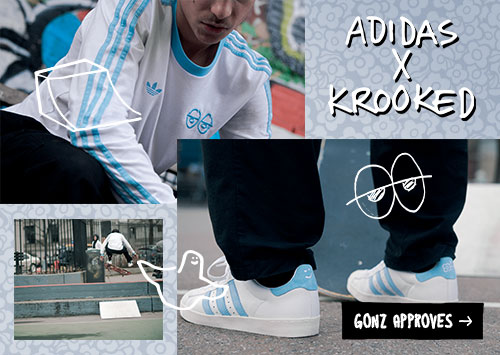 Adidas X Krooked Collection