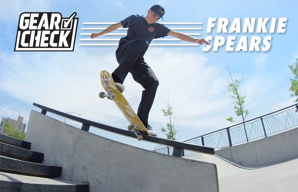 Gear Check with Frankie Spears