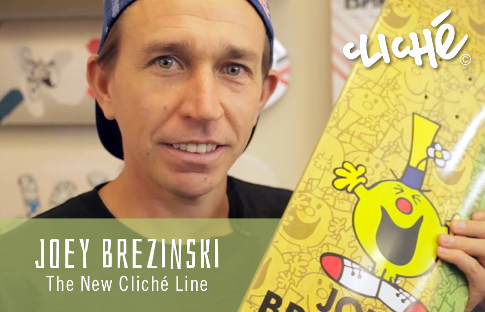 Joey Brezinski Talks New Cliche
