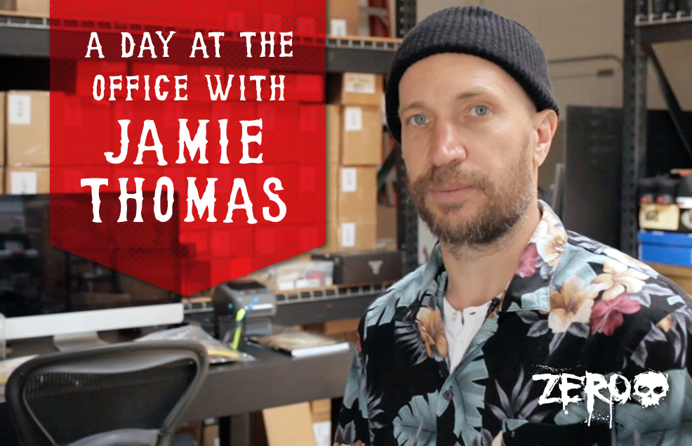 A Day At Zero's Headquarters With Jamie Thomas