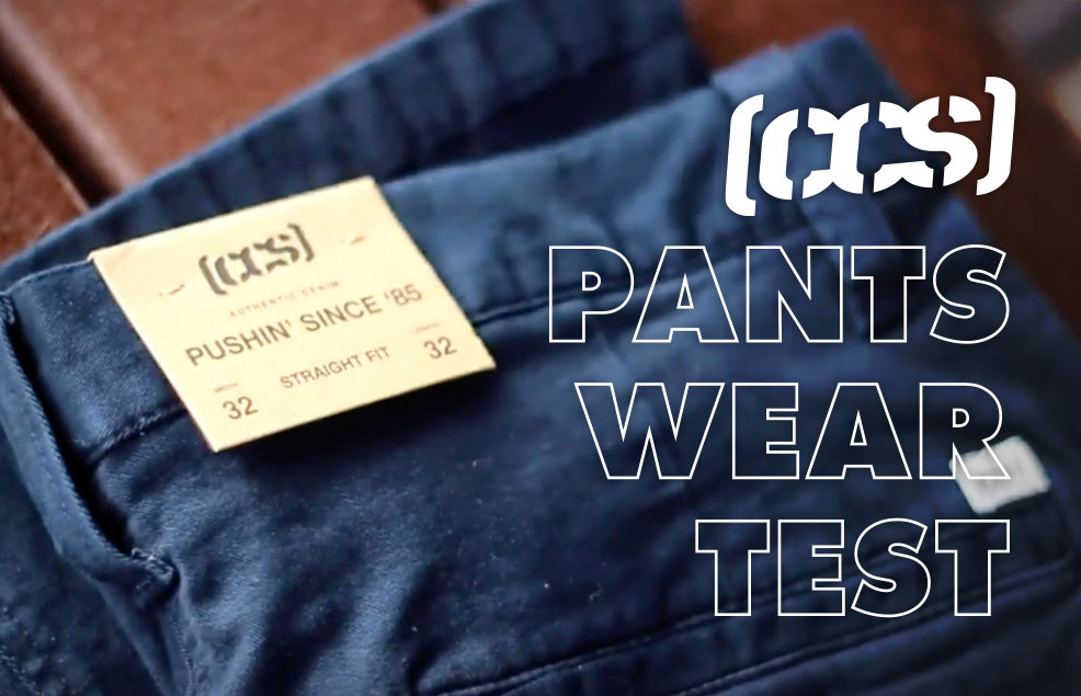 CCS Pants Wear Test