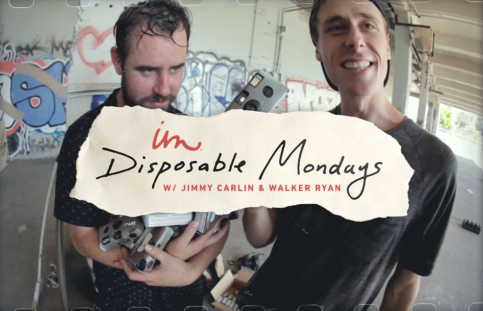 Disposable Mondays With Walker Ryan And Jimmy Carlin