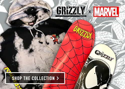 New Grizzly x Marvel Collection