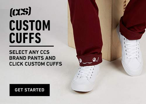 CCS Pants: Custom Cuffs